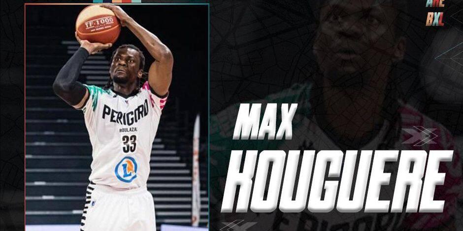 Max Kouguere rejoint le Phoenix Brussels pour palier la blessure de Pavle Djurisic