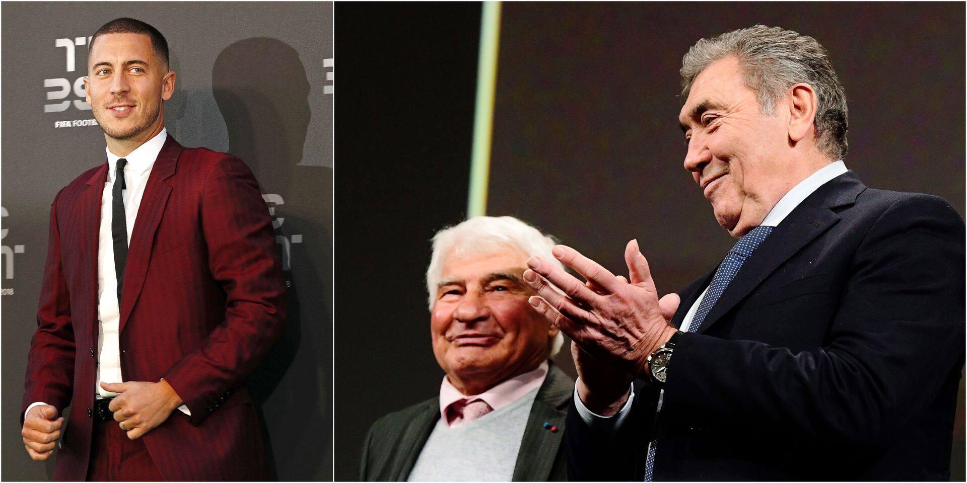 """Eddy Merckx: """"Eden, marque l'histoire du sport belge comme moi"""""""