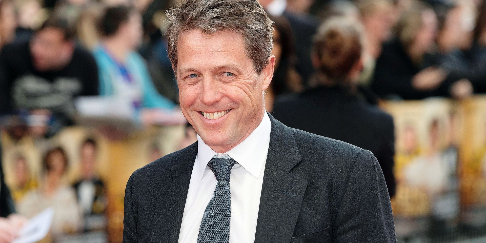 "Hugh Grant at World Premiere of ""Florence Foster Jenkins""Movie in London 12/04/2016"