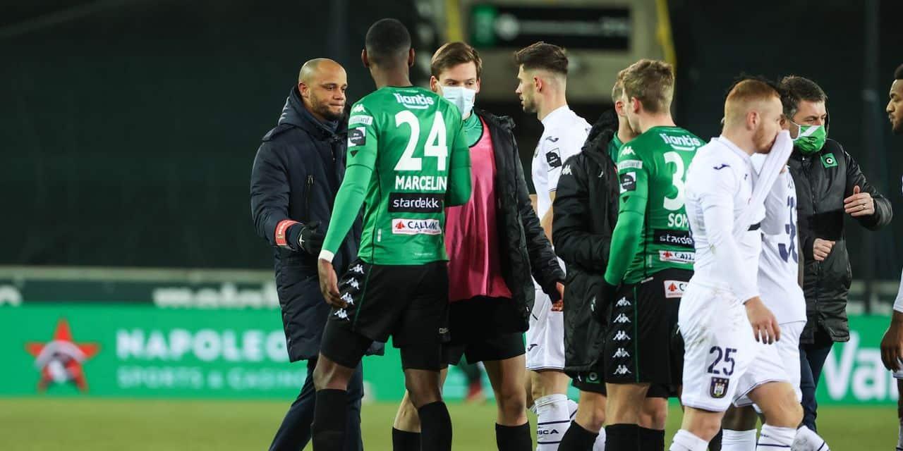 Cette saison, Anderlecht a perdu plus de points contre les petits - dh.be