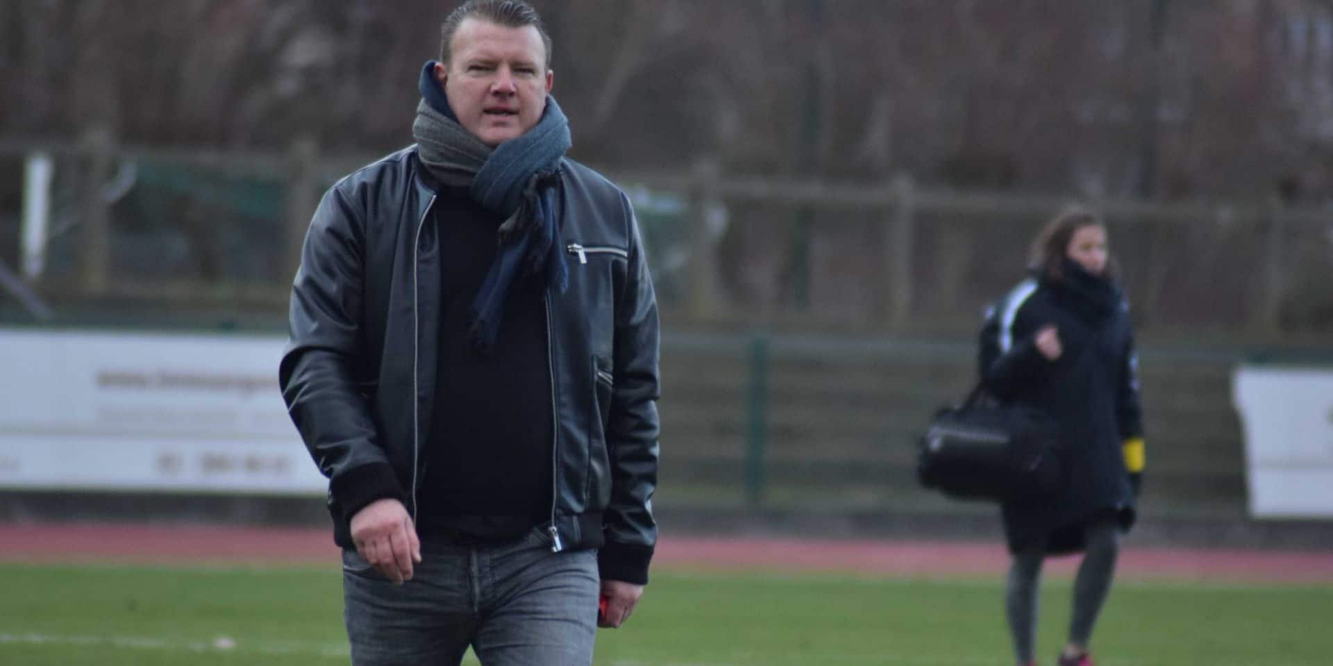 Olivier Suray n'est plus le coach de Gosselies