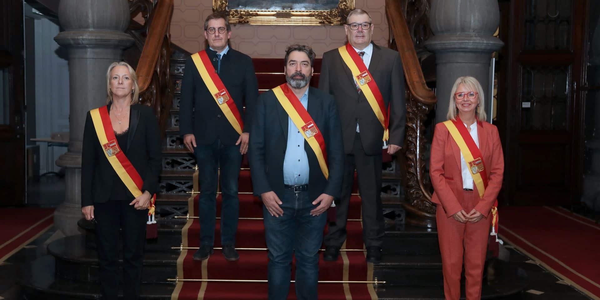 Liège: un nouveau député provincial a prêté serment
