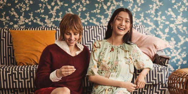 """La collection capsule imprimée de H&M pour """"faire tapisserie"""" avec style ! - La DH"""