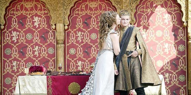 Le carton des mariages… Game Of Thrones