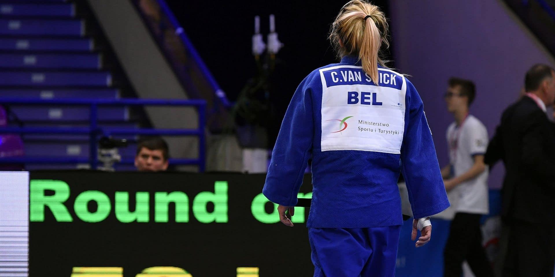 Judo : Charline Van Snick sortie par l'arbitre à Kazan ! (VIDÉO)