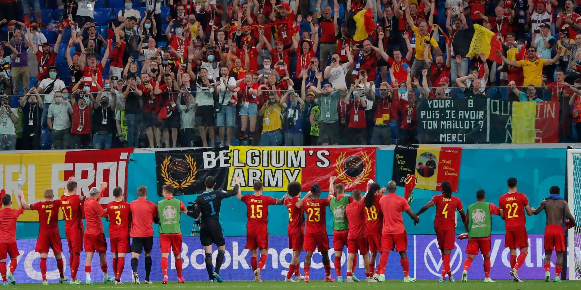 """""""C'est irresponsable"""", """"ce n'est pas stratégique"""": la décision de l'UEFA de maintenir le quart de finale à Saint-Pétersbourg inquiète en Belgique"""
