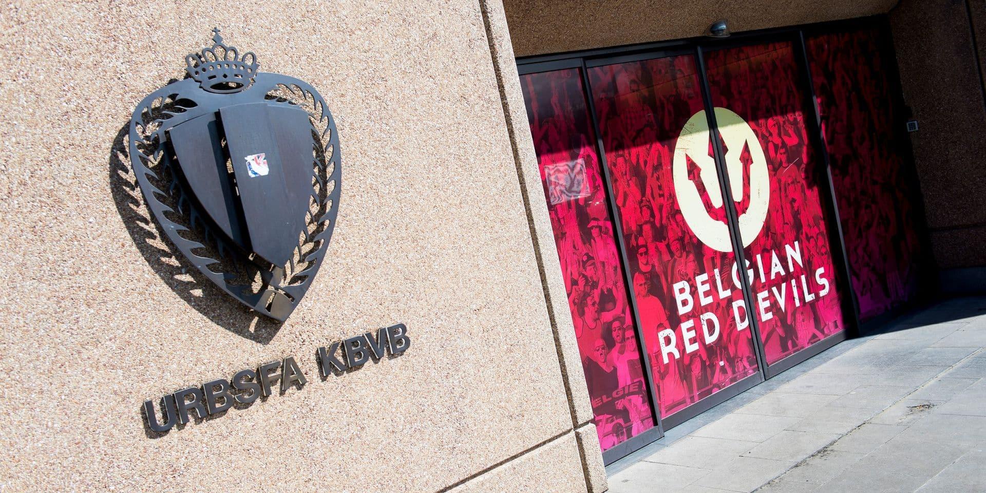 Pour ses 125 ans, l'Union belge de football change le logo de la fédération et des Diables Rouges ! (PHOTOS)