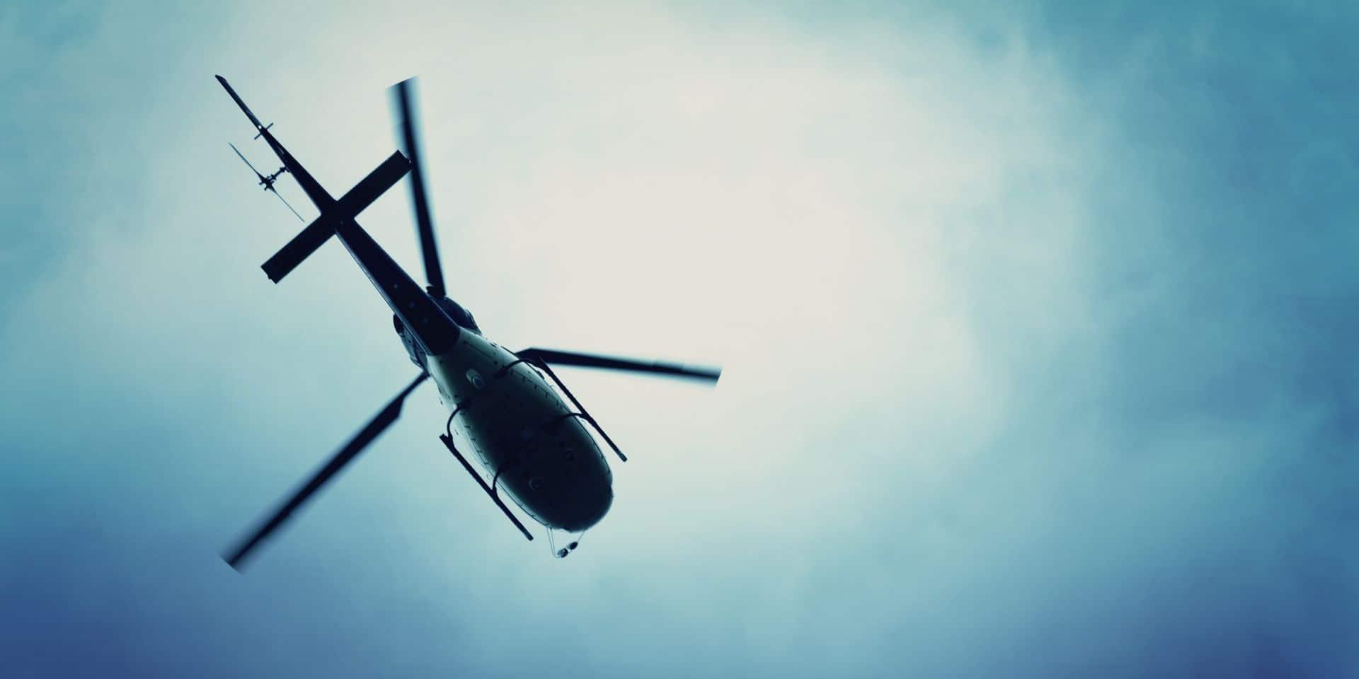Une femme accouche sur l'aire d'autoroute à Sprimont, l'hélico médicalisé intervient