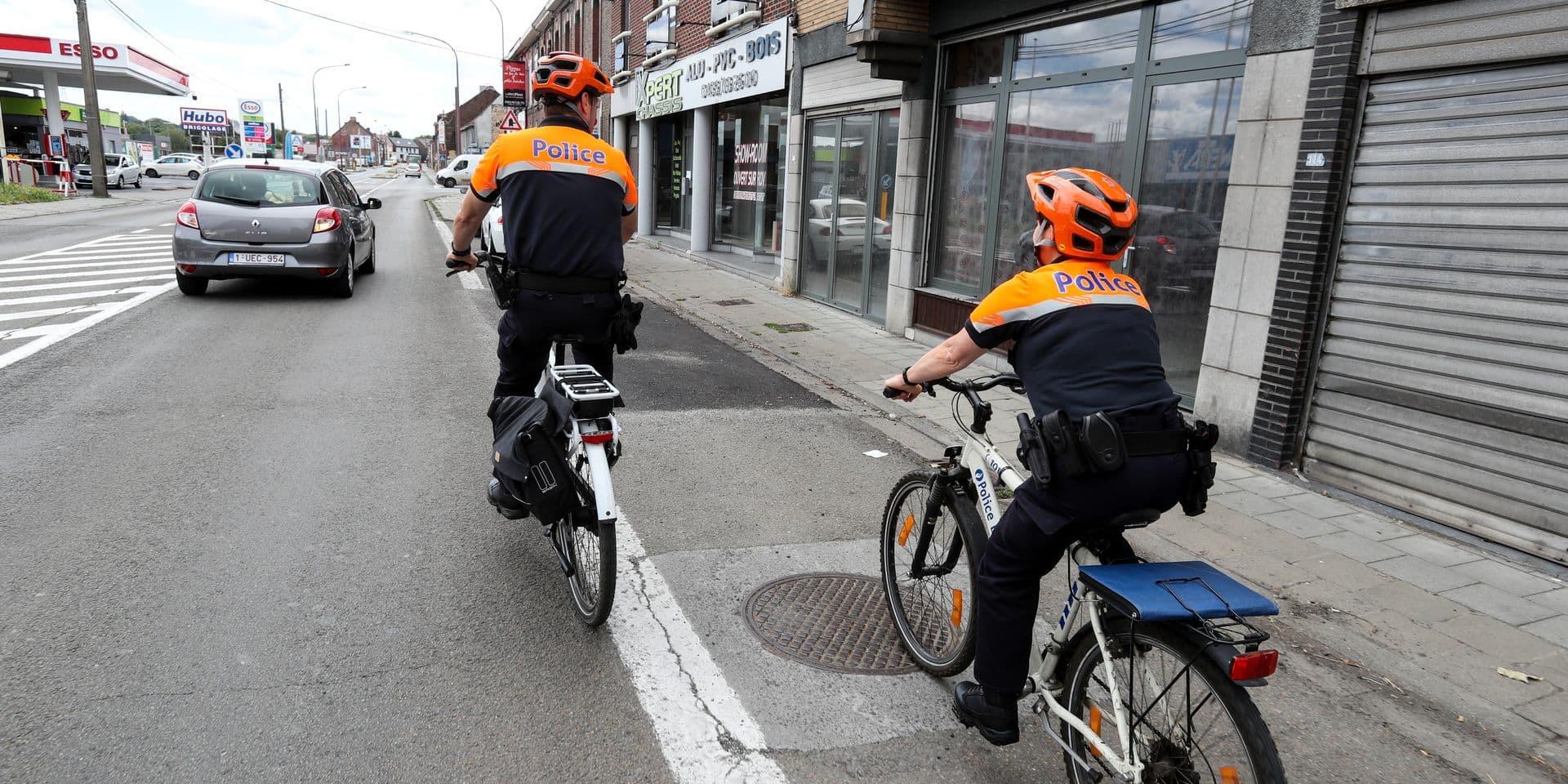 PATROUILLE POLICE VELO