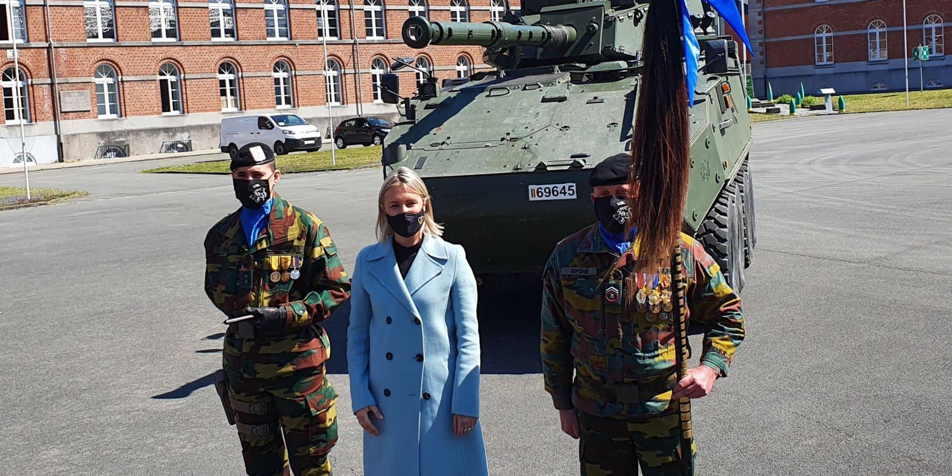 La caserne Ruquoy à Tournai accueille désormais un escadron de Lanciers