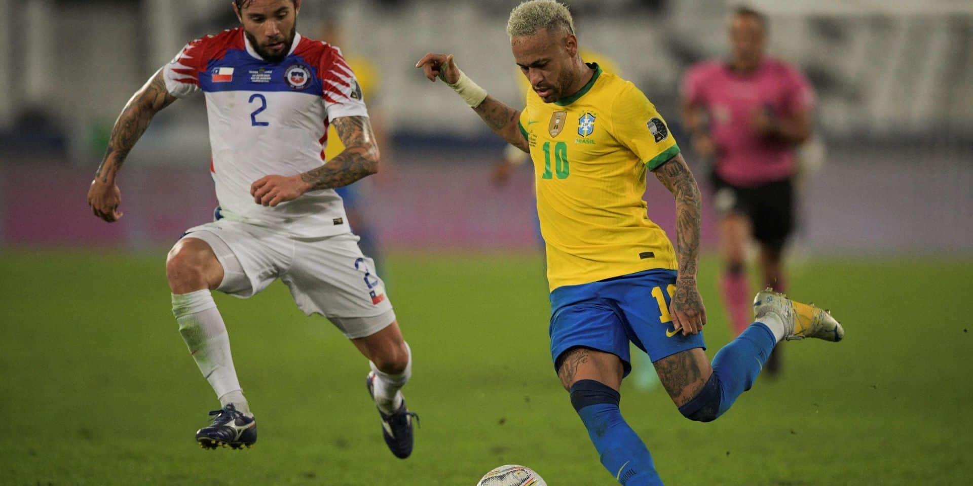 Copa America: le Brésil bat le Chili et va en demi-finale contre le Pérou