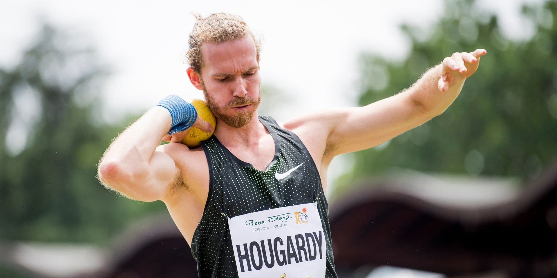 Le décathlonien Benjamin Hougardy signe la meilleure performance belge de l'année à Aubagne