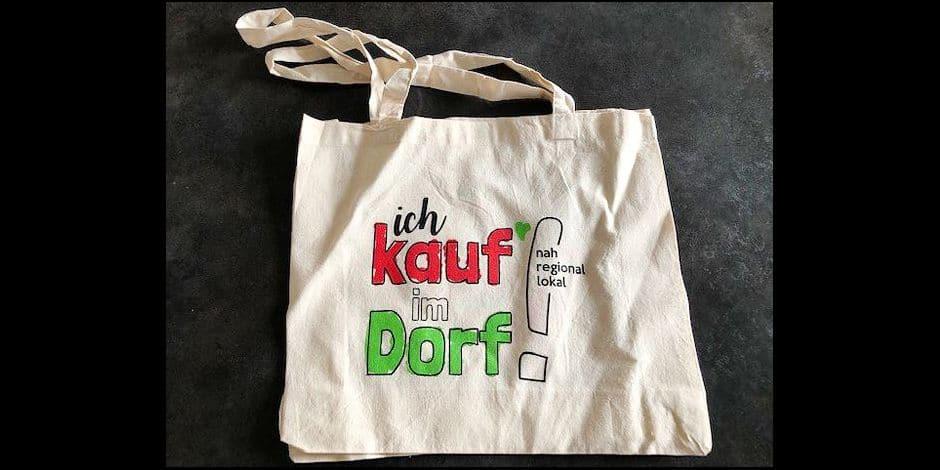 J'aime ma commune / Butgenbach: un sac pour acheter dans les villages