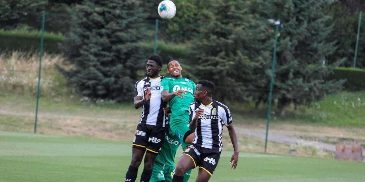 Charleroi s'écroule en fin de match face à Saint-Etienne en amical (4-0)