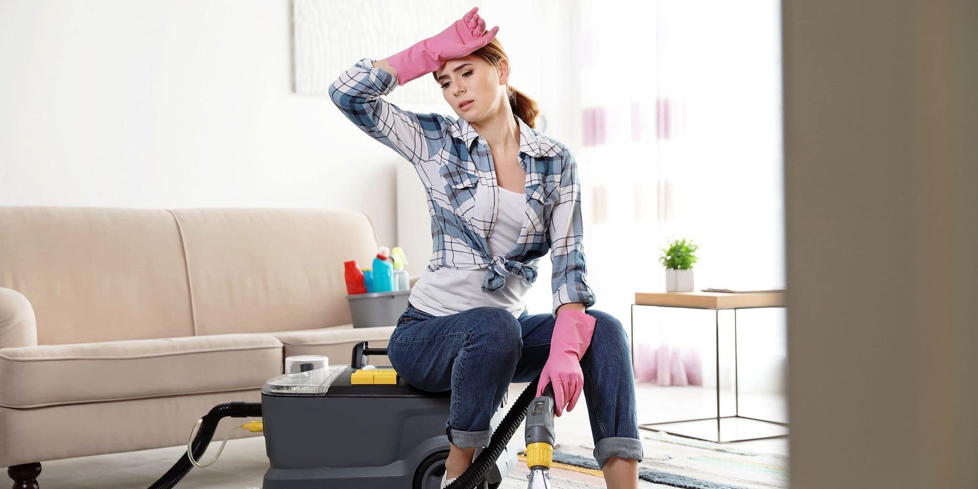 """Le fléau de l'absentéisme fait rage dans les sociétés de titres services : """"Oui, mais femme de ménage est un métier éprouvant..."""""""