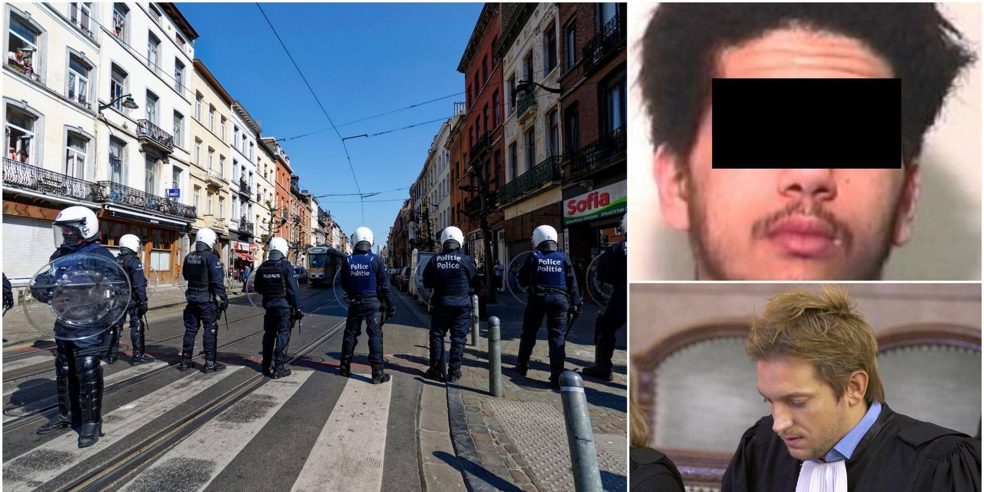 Arme volée aux policiers en plein confinement : il est condamné à travailler !