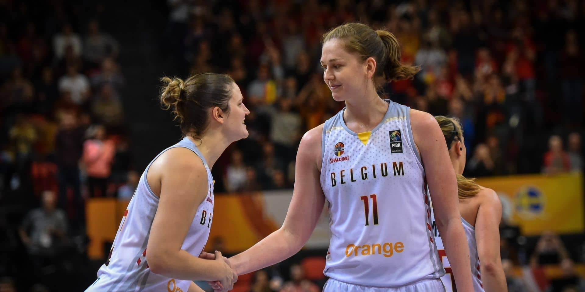 """Emma Meesseman se veut positive à quelques heures du match contre le Portugal: """"Le basket n'est qu'un jeu"""""""