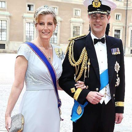 Arrivées au mariage de Carl Philip de Suède et Sofia Hellqvist à la chapelle du palais royal à Stockholm