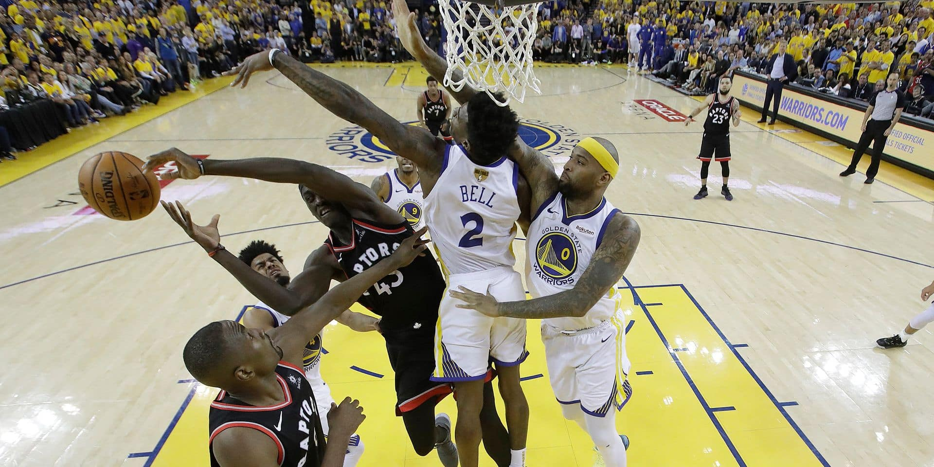 NBA: Toronto ne laisse pas passer sa chance et mène 2-1 face à Golden State