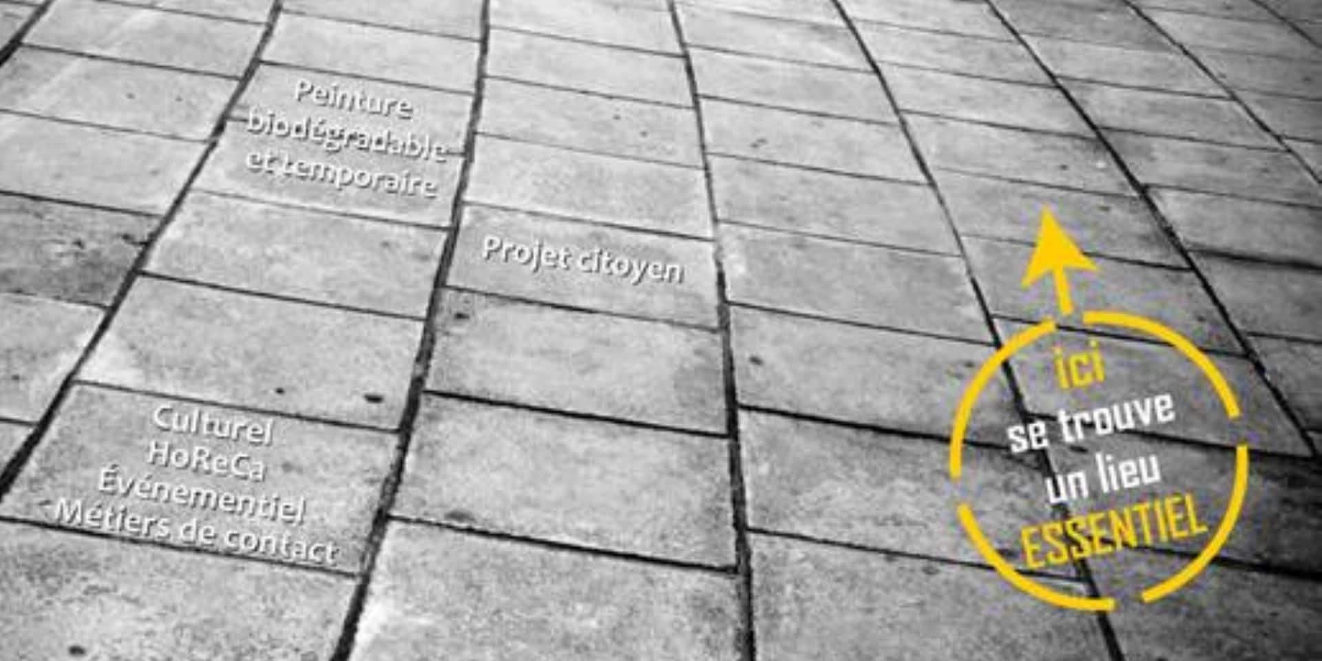Bastogne : les trottoirs seront tagués ce samedi