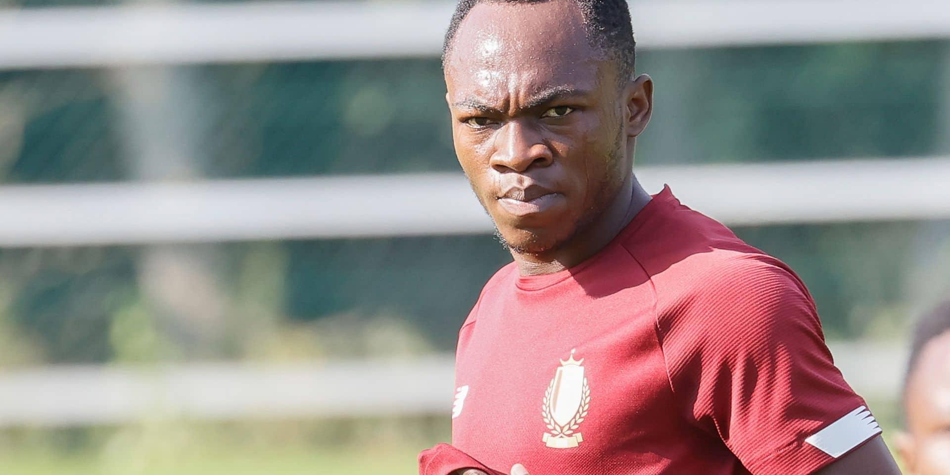 """Jackson Muleka vu depuis le Congo: """"Fans rouches, soyez patients et vous verrez qu'on vous a légué une pépite"""""""