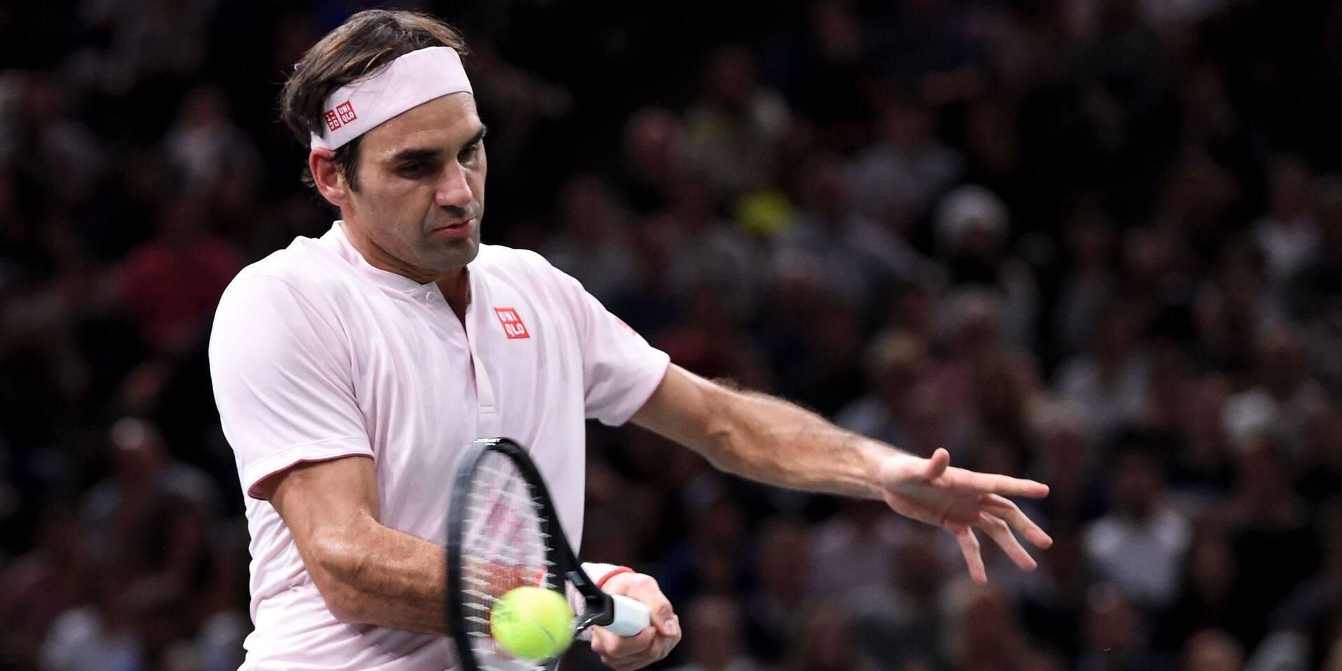ATP Paris: Federer rejoint Djokovic en demi-finale