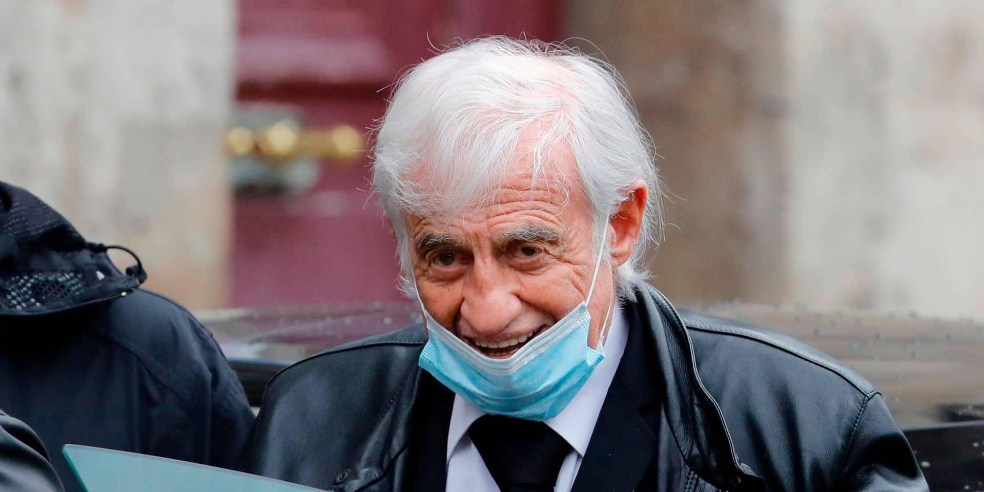 """Antoine Duléry: """"Jean-Paul Belmondo va très bien, il fait toujours l'imbécile"""""""