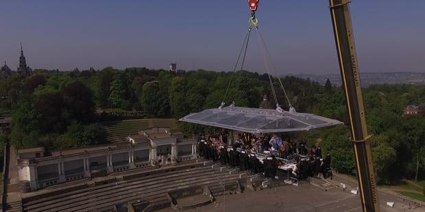 Namur in the sky: plein les yeux! (PHOTOS ET VIDEOS) - La DH