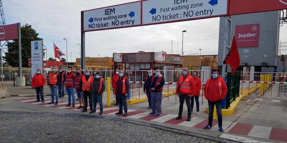 Grève chez AB InBev à Jupille: la direction se dit dans l'obligation de faire appliquer des astreintes