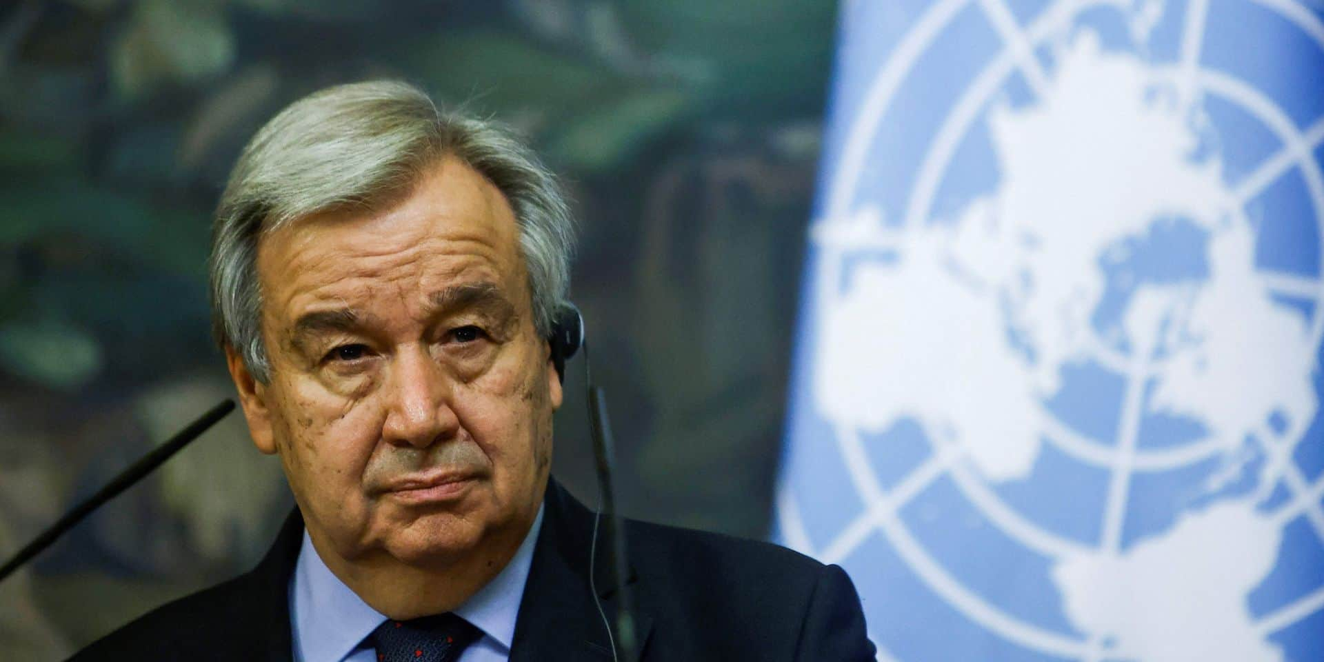 """""""Nous sommes en guerre contre le Covid"""", affirme Antonio Guterres au sommet de l'OMS"""