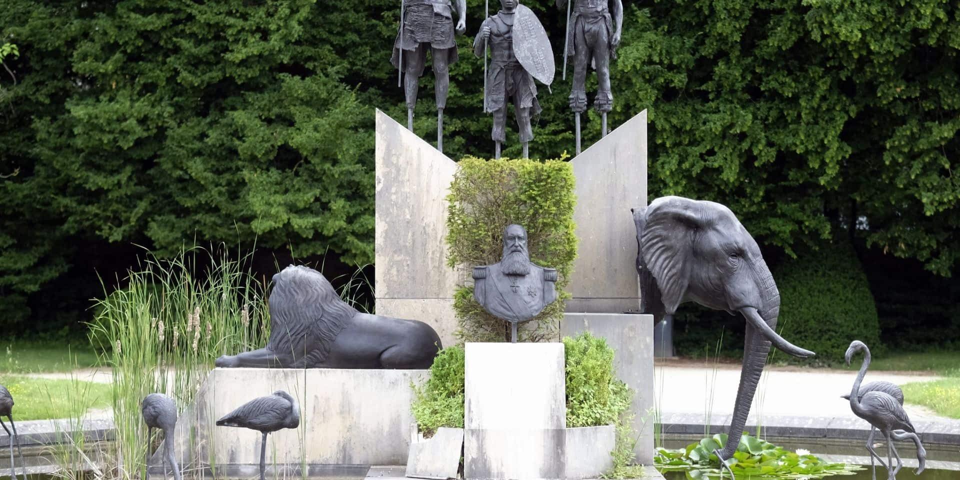 Le buste de Léopold II vandalisé à Tervuren a été nettoyé
