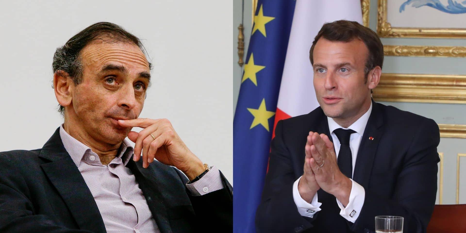 """Zemmour tacle Macron: """"Il fait la guerre à un virus, mais pas aux djihadistes"""""""