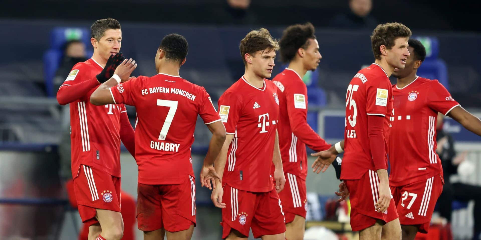 Deux joueurs du Bayern Munich positifs au coronavirus