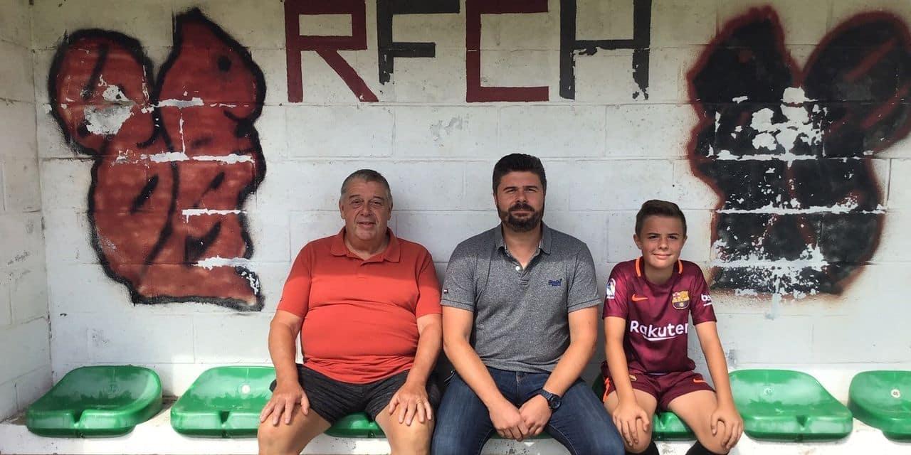 Patrick, Grégory et Léonel: la famille Marcq a le RFC Houdinois dans la peau