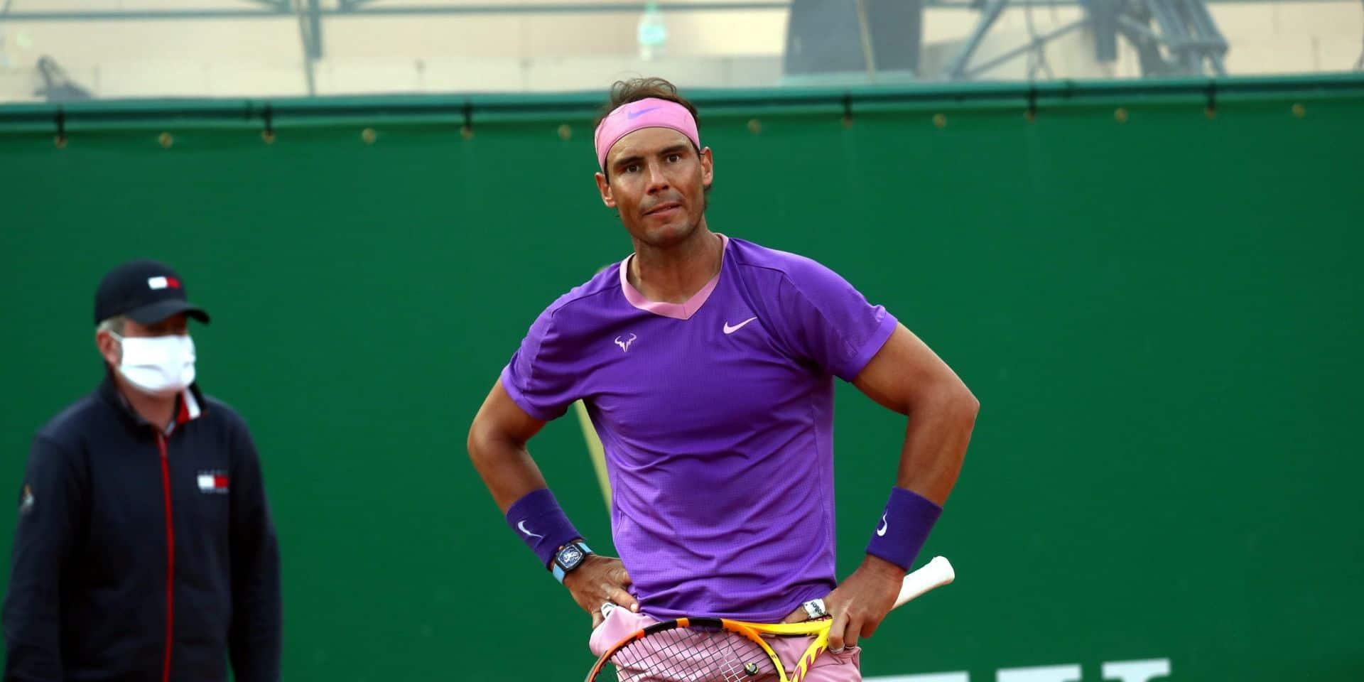 """""""J'ai perdu une occasion de bien commencer la saison sur terre"""", regrette Nadal"""