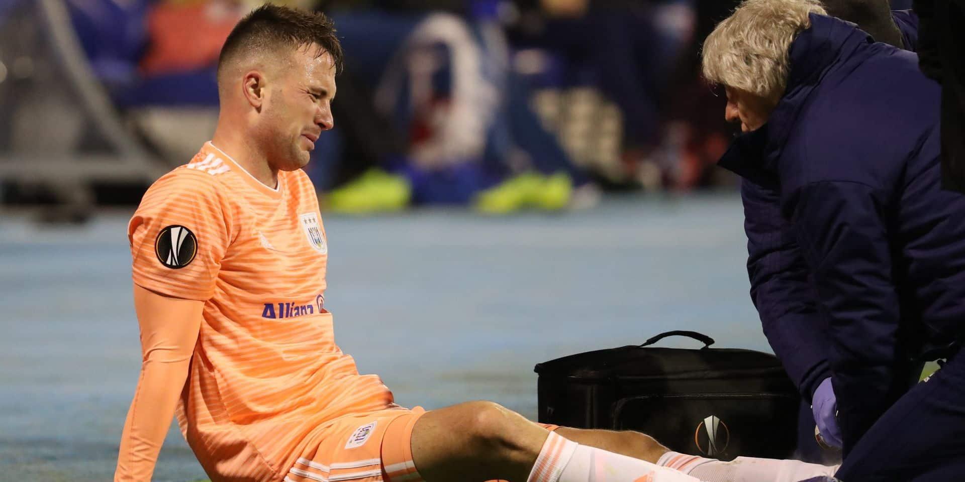 L'indésirable Milic déjà de retour à Anderlecht