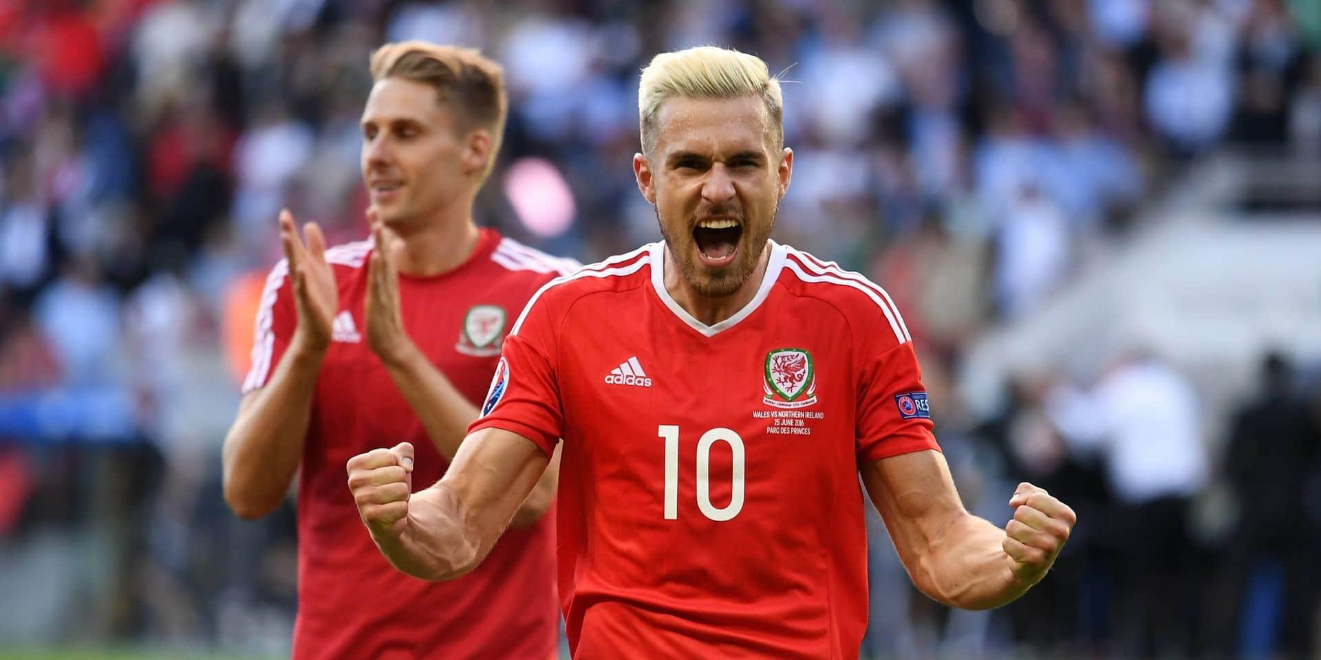 Le Pays de Galles privé d'Aaron Ramsey contre les Diables Rouges