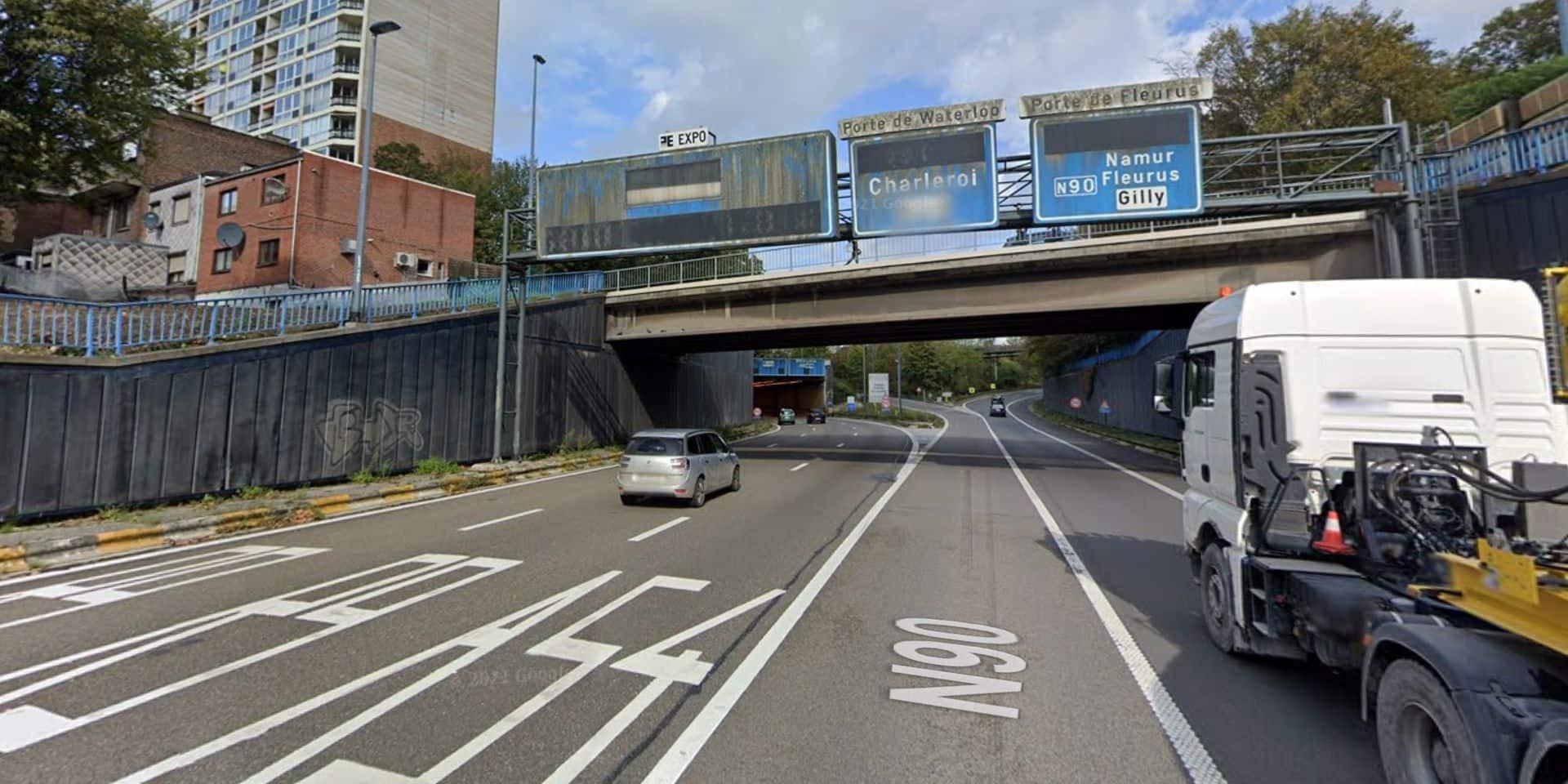 R9: un accident bloque deux bandes de circulation