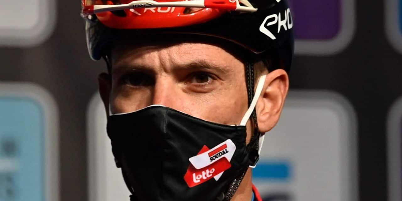 """Flèche Wallonne : Philippe Gilbert """"heureux d'être au départ"""" après sa pause"""