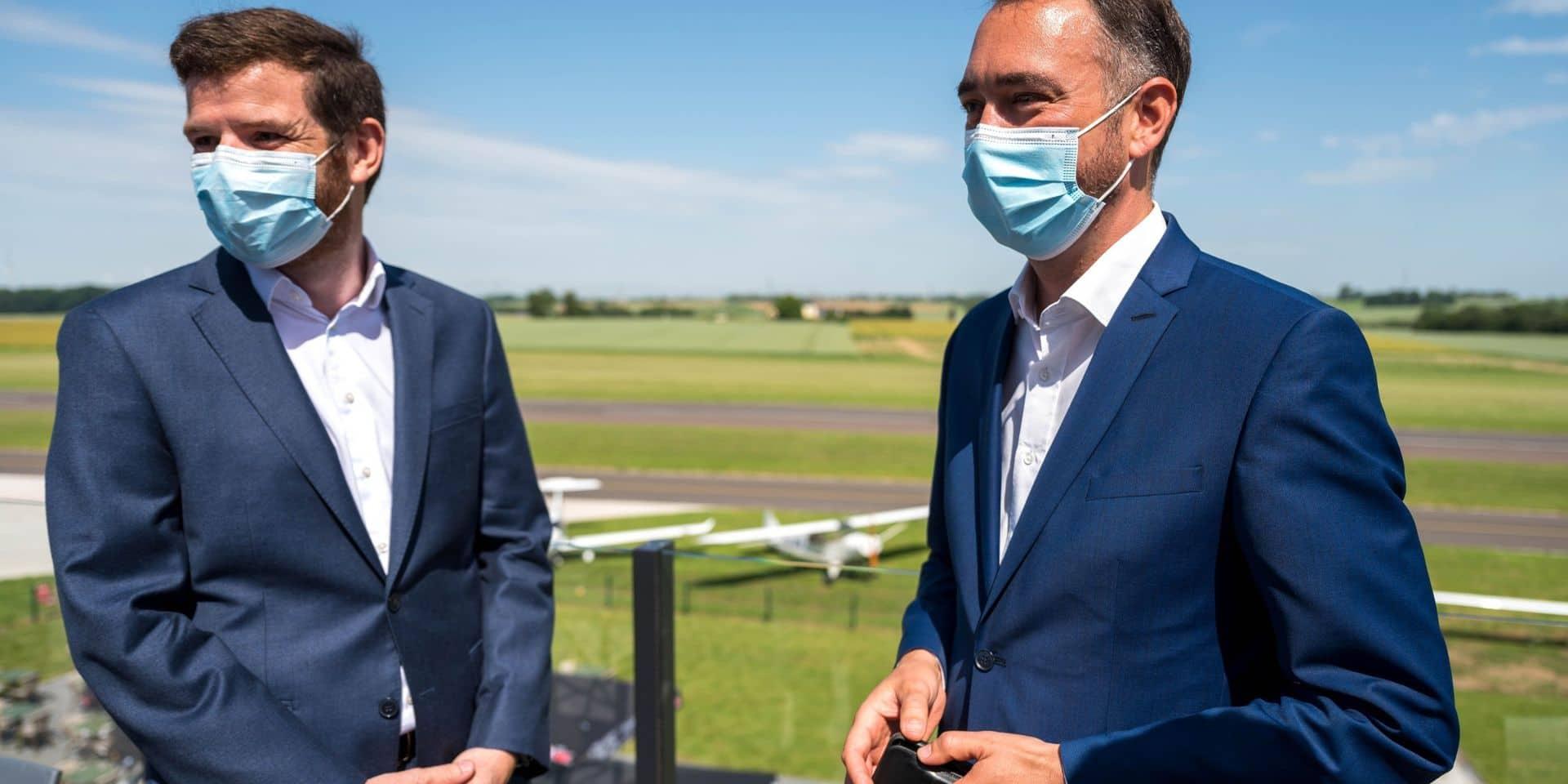 L'Aérodrome de Namur inaugure ses nouvelles infrastructures