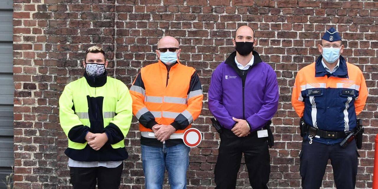 Mouscron: le masque obligatoire aux abords des écoles