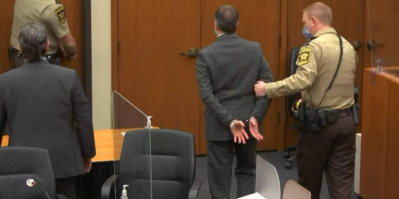 Ce que Derek Chauvin a écrit sur sa main avant d'être reconnu coupable du meurtre de George Floyd