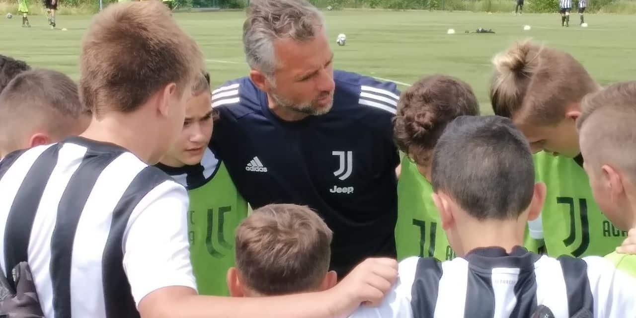 Houdeng: des jeunes coachés par les entraineurs de la Juventus de Turin