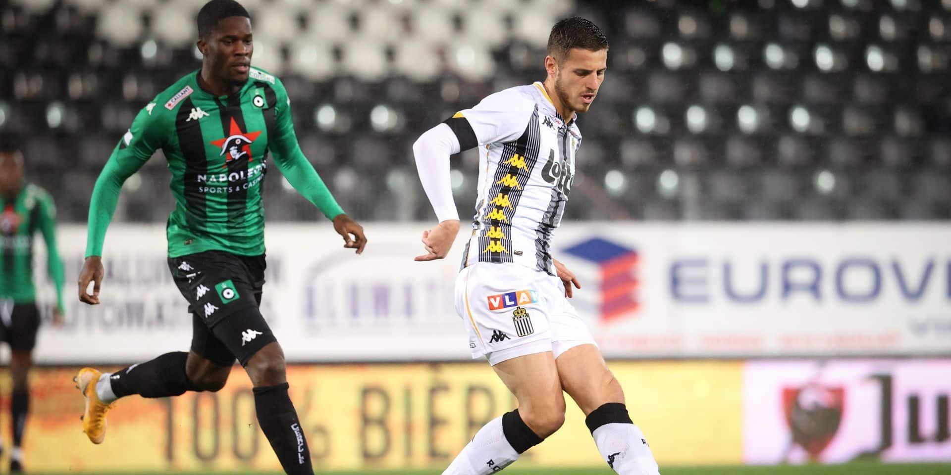 """Marco Casto, l'ancien défenseur de Charleroi, juge ses anciennes couleurs: """"La défense carolo porte toute l'équipe"""""""