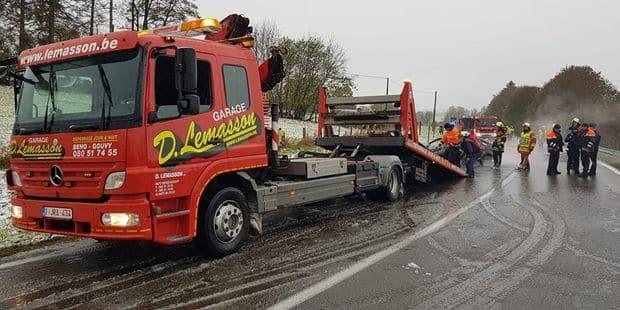 Accident entre Beho et Deiffelt (Gouvy) : deux blessées graves - La DH