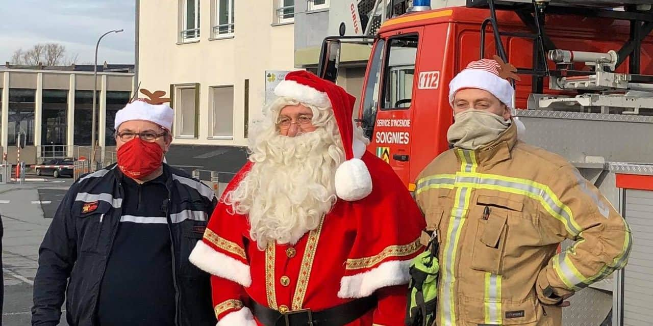 Borinage: le Père-Noël va prendre de la hauteur pour saluer les résidents de maisons de repos