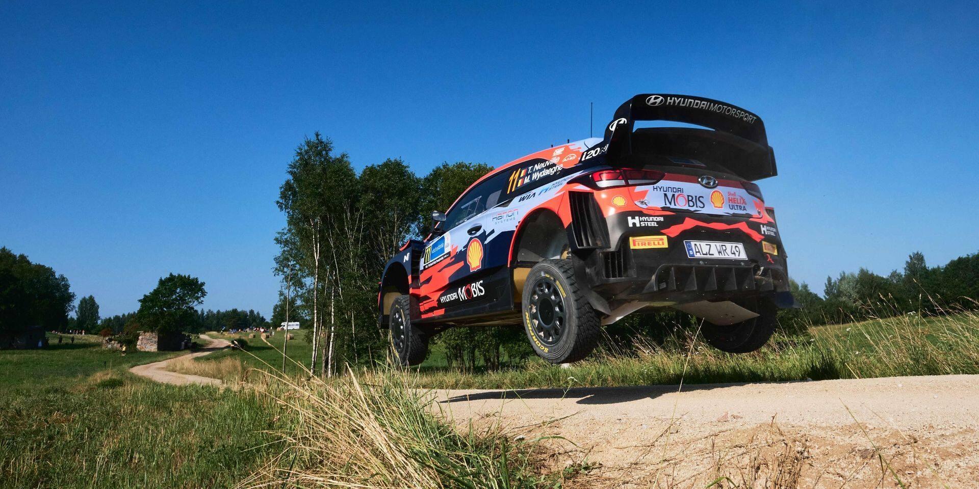 WRC Estonie: Kalle Rovanpera le plus rapide lors de la spéciale d'essais, Neuville 6e