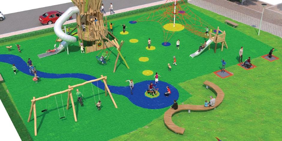 Neder-Over-Heembeek : Un nouveau parc pour le quartier Versailles cet été