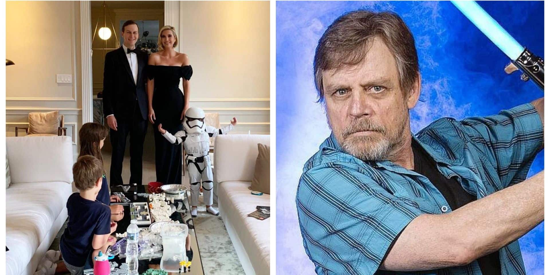 Mark Hamill, alias Luke Skywalker, découpe la famille Trump en un tweet