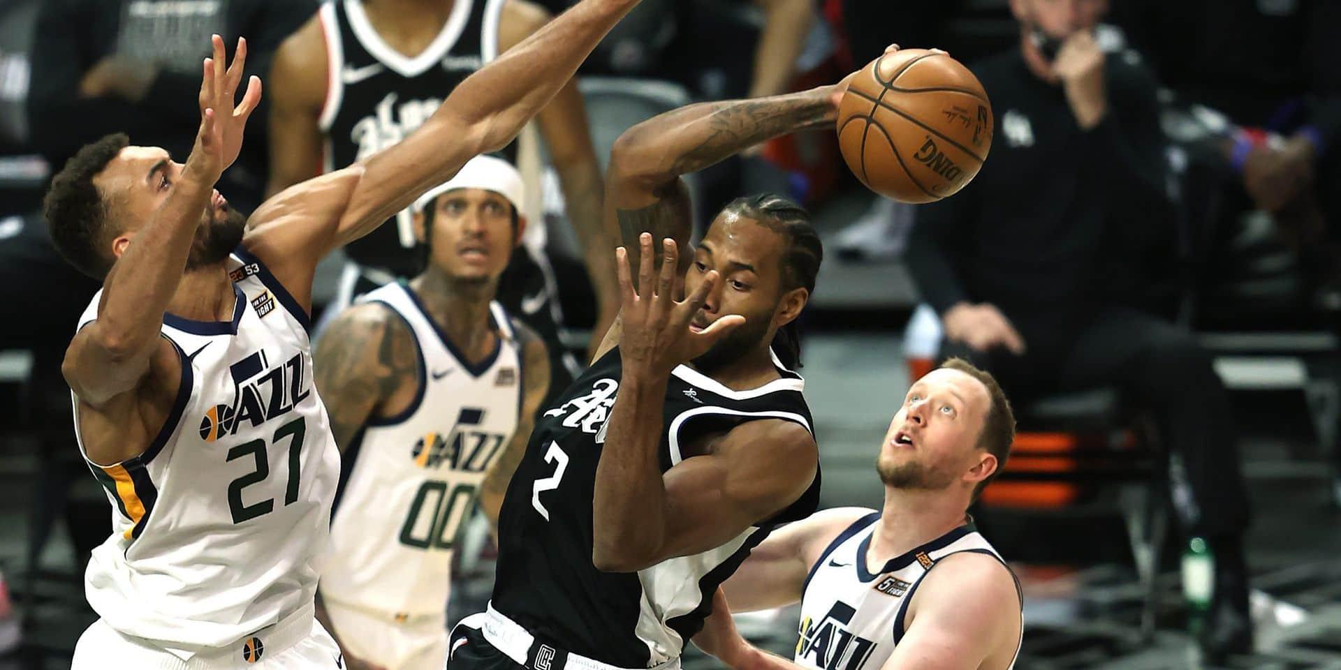 NBA: Les Clippers réduisent l'écart face à Utah Jazz en demi-finales des playoffs à l'Ouest